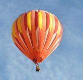 Orange Hot Air Balloon Stock Image