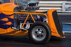 Orange Hot Rod Stock Images