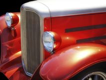 Orange Hot Rod Stock Photo