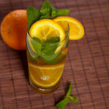 Orange Ice Tea Stock Photos