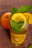 Orange Ice Tea Royalty Free Stock Photography