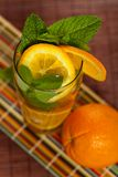 Orange Ice Tea Royalty Free Stock Photos