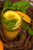 Orange Ice Tea Stock Photo