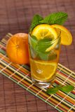 Orange Ice Tea Stock Image