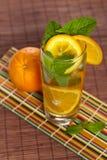 Orange Ice Tea Stock Image