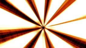 Orange Illuminated 3D Tunnel Motion Background. stock footage