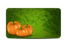 Orange illustration för pumpabakgrundsvektor Royaltyfria Bilder