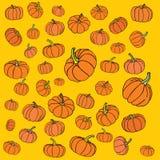 Orange illustration för vektor för design Arkivbilder