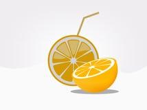 Orange Illustrationsvektor Stockfotos