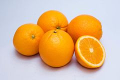 orange image for advertisement and background. Juicy orange photo for wallpaper or background Royalty Free Stock Image