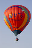 Orange IMTS Balloon in sky Royalty Free Stock Images