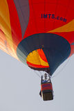 Orange IMTS Balloon in sky close up Stock Images