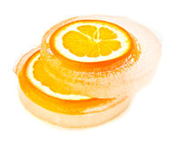Free Orange In Ice Royalty Free Stock Photos - 47309758