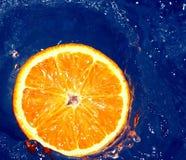 Free Orange In Water Stock Image - 658161
