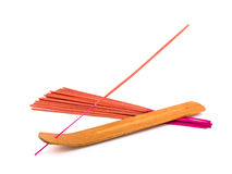 Orange incense Stock Photography