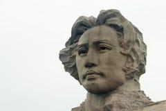 Orange Insel-junge Mao Zedong-Statue Changshas Stockfotografie