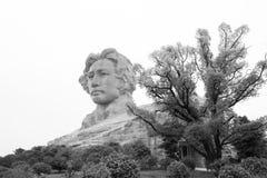 Orange Insel-junge Mao Zedong-Statue Changshas Lizenzfreies Stockbild