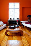 Orange interior Royalty Free Stock Photography