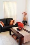 Orange Interior Stock Photo
