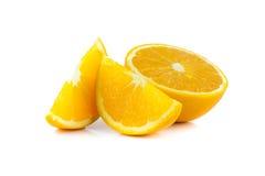 Orange. Ioslate and on white background Royalty Free Stock Image