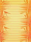 Orange irregular background Stock Image