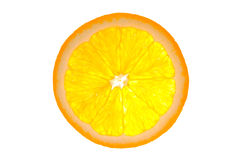 Orange isolated Royalty Free Stock Photo