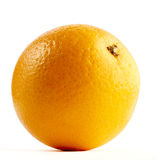 Orange isolated on a white. Taken in studio Royalty Free Stock Images