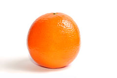 Orange isolated on a white Royalty Free Stock Photography