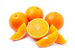 Orange. Isolated on white background Royalty Free Stock Photos