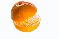 Orange isolated Stock Image