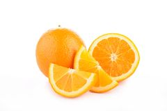 Orange isolated Royalty Free Stock Photos