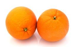 Orange  isolated  on  white background Royalty Free Stock Image