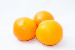 Orange. Isolated orange on white background Royalty Free Stock Photos