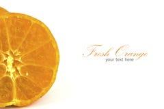 Orange isolated Stock Photography
