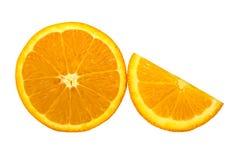 Orange isolated on white background. Stock Photography