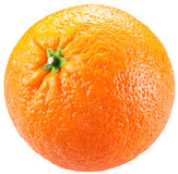 Orange isolated on a white background. Stock Photography