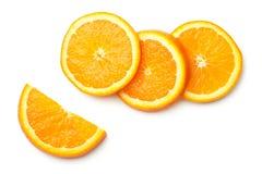 Orange Isolated on White Background royalty free stock photos