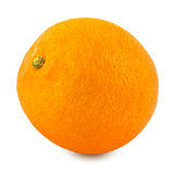 Orange. Isolated on white background with shadow Royalty Free Stock Photography