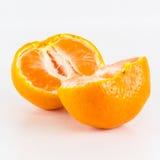Orange isolated on white background Stock Photos