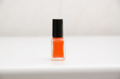 Orange ist der neue Nagellack Lizenzfreie Stockfotos