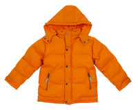Orange Jacke Lizenzfreies Stockfoto