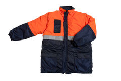 Orange jacket Royalty Free Stock Photos
