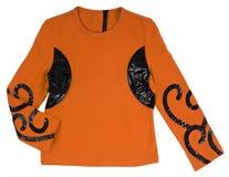 Orange jacket Royalty Free Stock Photography