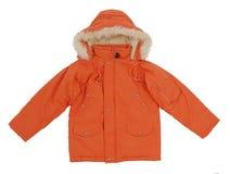 Orange jacket Royalty Free Stock Images