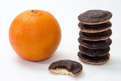 Orange and jafa cookies Royalty Free Stock Photos