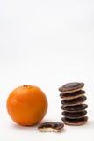 Orange and jafa cookies Stock Photography
