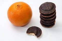 Orange and jafa cookies Royalty Free Stock Photo