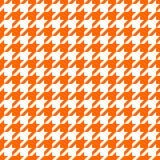 Orange Jagdhundzahndesign Stockfotos