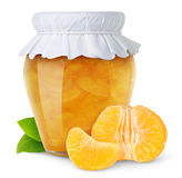 Orange jam Stock Photos