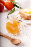 Orange jam Stock Photography